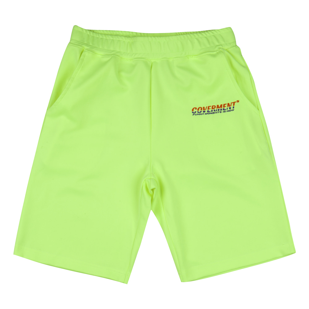 Training Shorts_Neon Green